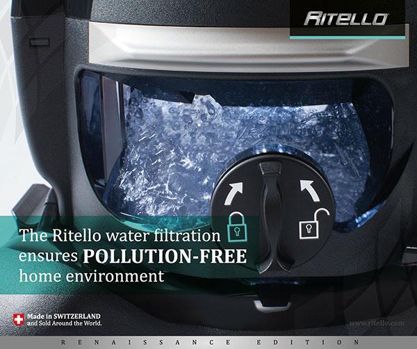 Il sistema di filtraggio del aria ad acqua che garantisce un ambiente casalingo privo di inquinamento