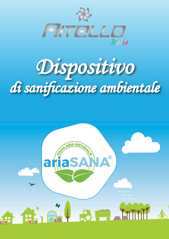 Certificato ottenuto dal ministero della salute in italia: come dispositivo medico e sanificatore ambientale